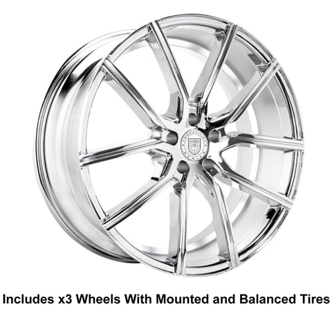 "Lexani Gravity Slingshot 24"" Wheel and Tire Package - Rev Dynamics"