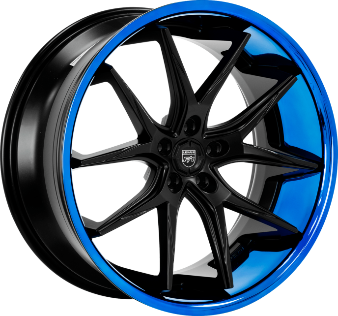 "Lexani R-12 Slingshot 20"" Front 22"" Rear Wheel and Tire Package - Rev Dynamics"