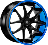 "Lexani R-12 Slingshot 22"" Wheel and Tire Package (OUT OF STOCK 10-20-20) - Rev Dynamics"
