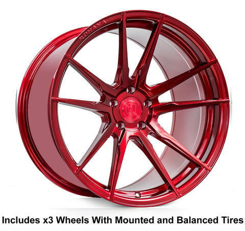 "Rohana RF2 Slingshot 20"" Super Wide Rear (345 or 335) Wheel and Tire Package"