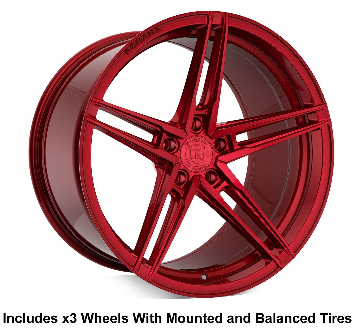 "Rohana RFX15 Slingshot 20"" Wheel and Tire Package - Rev Dynamics"