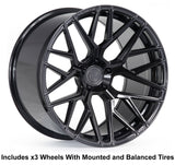 "Rohana RFX10 Slingshot 20"" Wheel and Tire Package"