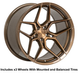 "Rohana RFX11 Slingshot 20"" (315 Rear) Wheel and Tire Package - Rev Dynamics"