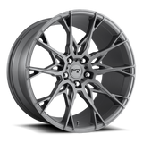 "Niche Staccato Slingshot 19"" Front 20"" Rear Wheel and Tire Package"