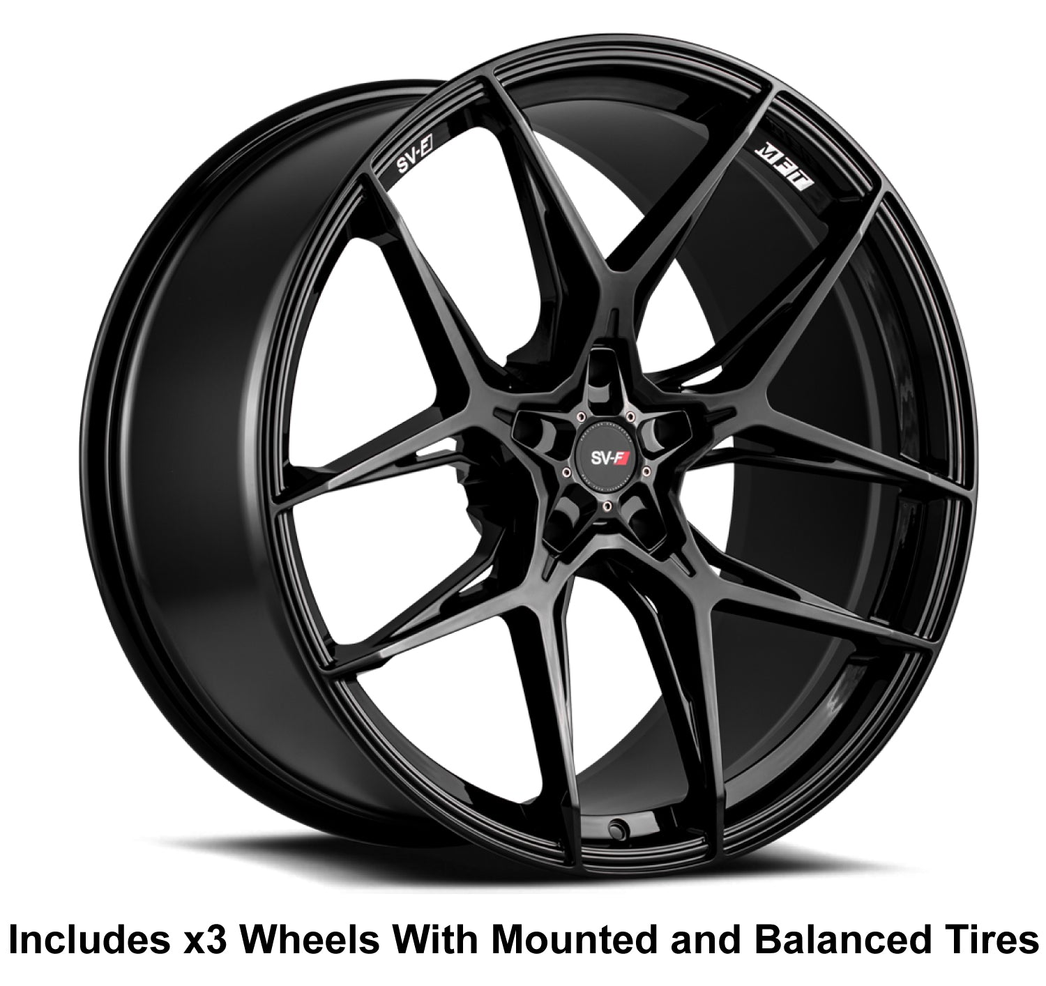 "Savini SV-F5 Slingshot 20"" (305 Rear) Wheel and Tire Package - Rev Dynamics"