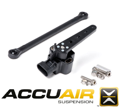 AccuAir Ride Height Sensor Replacement w/ Linkage Hardware AA-ROT-120 - Rev Dynamics