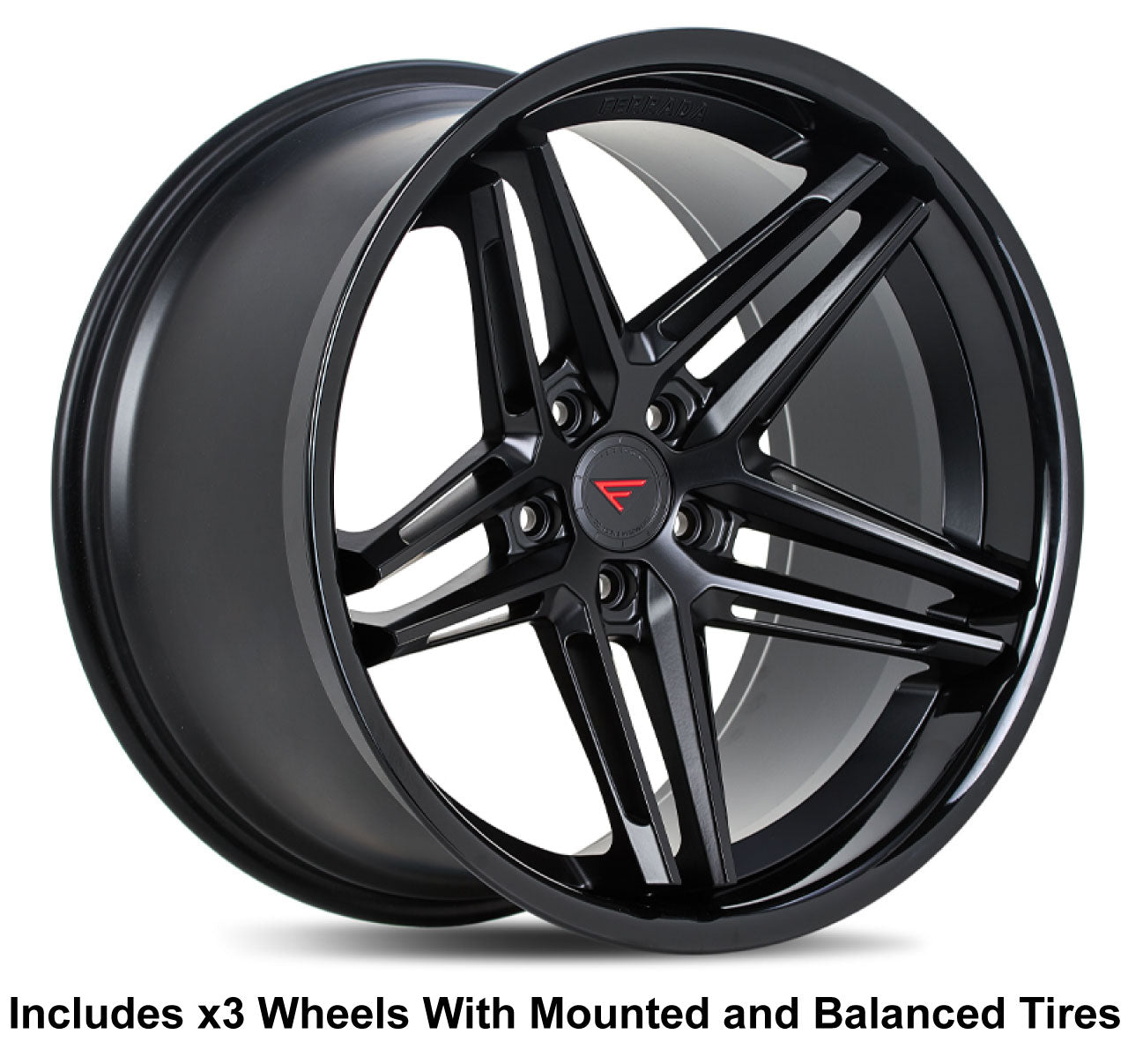 "Ferrada CM1 Slingshot 20"" Wheel and Tire Package"