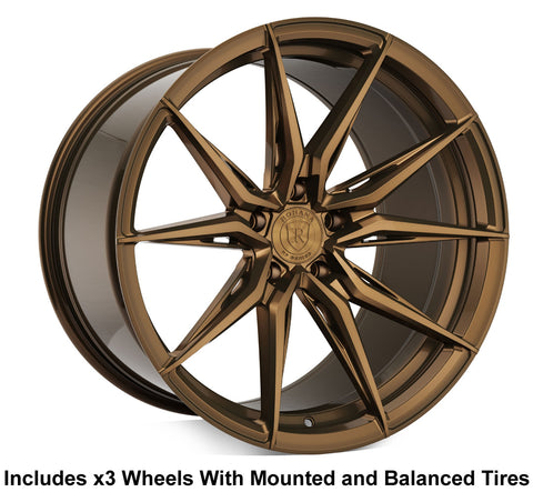 "Rohana RFX13 Slingshot 20"" Wheel and Tire Package - Rev Dynamics"
