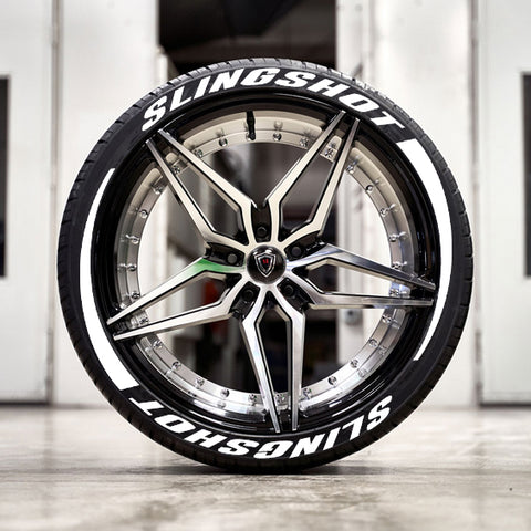 Polaris Slingshot Custom Raised Letter Tire Builder