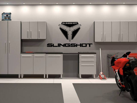 Polaris Slingshot Logo Vinyl Wall Decal - Rev Dynamics