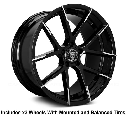 "Lexani Stuttgart 22"" Wheel and Tire Package"