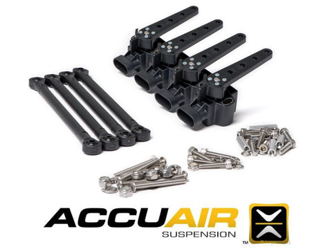 AccuAir Ride Height Sensor Replacement w/ Linkage Hardware AA-ROT-120 (4-Pack) - Rev Dynamics