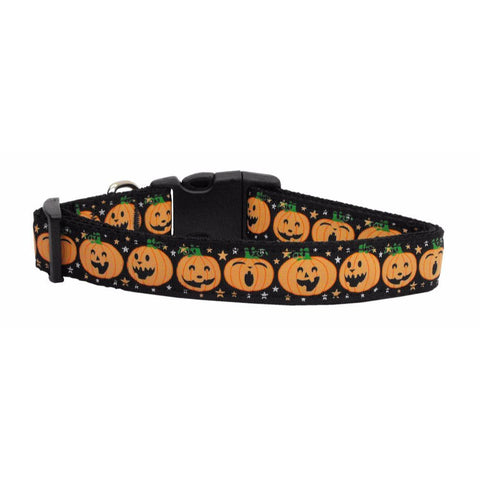 Pumpkins Adjustable Ribbon Nylon Collar