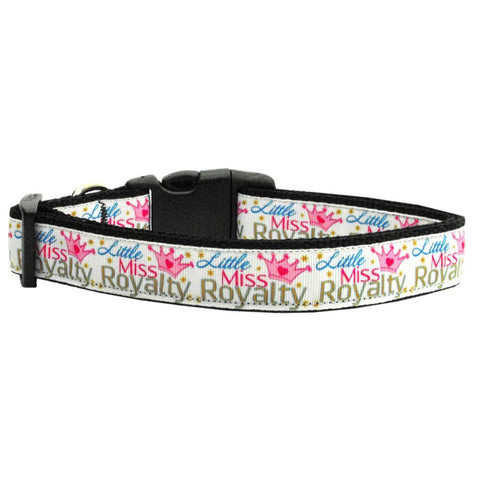 Little Miss Royalty Adjustable Ribbon Nylon Collar