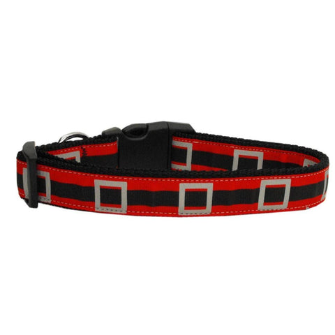 Santas Belt Adjustable Ribbon Nylon Collar