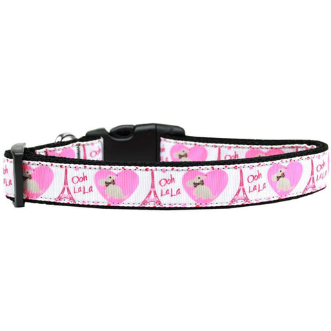 Oh La La Adjustable Ribbon Nylon Collar
