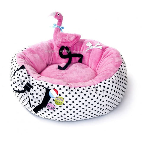 Flamingo Dog Bed
