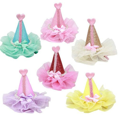 Pretty Party Clip-on Hats