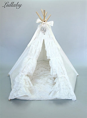 Lullaby Teepee Dog Bed