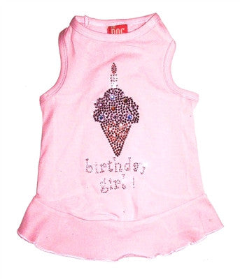Pink Birthday Ice Cream Dress