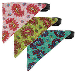 Pretty Paisley Bandana Collar