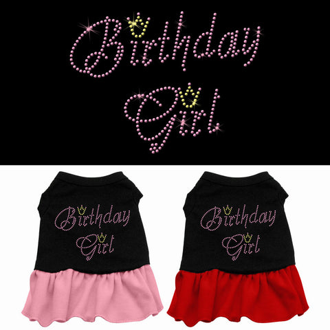 Birthday Girl Rhinestone Dress