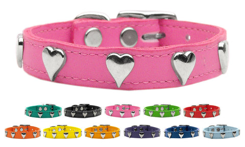 Heart Leather Collar
