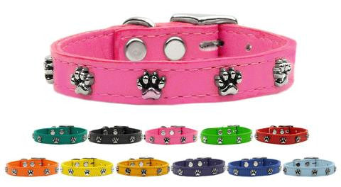 Paw Leather Collar