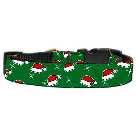 Santa Hat Adjustable Ribbon Nylon Collar