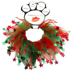 Christmas Star Smoocher Collar