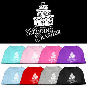 Wedding Crasher Dog Shirt
