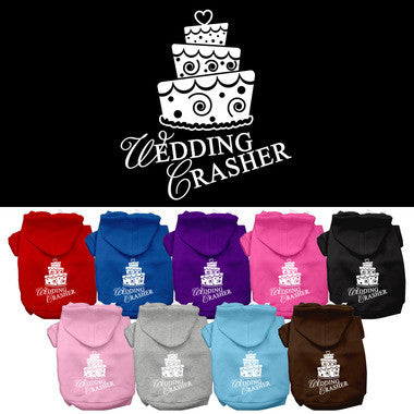 Wedding Crasher Pet Hoodie