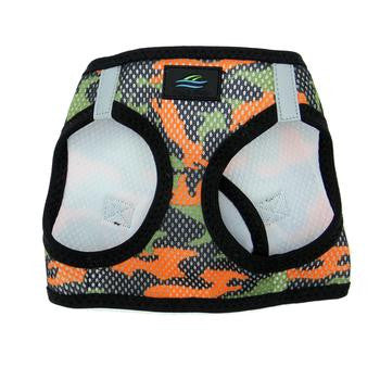 American River Dog Harnesses Camouflage Collection - Orange Camo