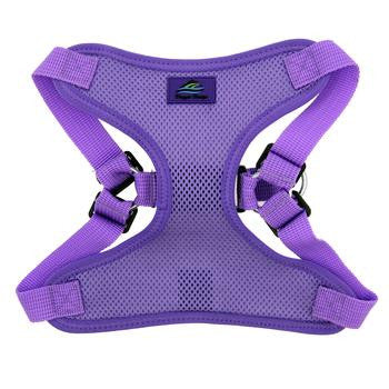 Wrap & Snap Choke Free Dog Harness - Paisley Purple