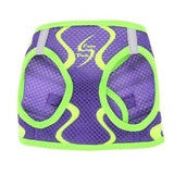 American River Neon Sport Dog Harnesses - Ultra Violet