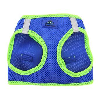 American River Dog Harness Top Stitch Collection - Cobalt Blue