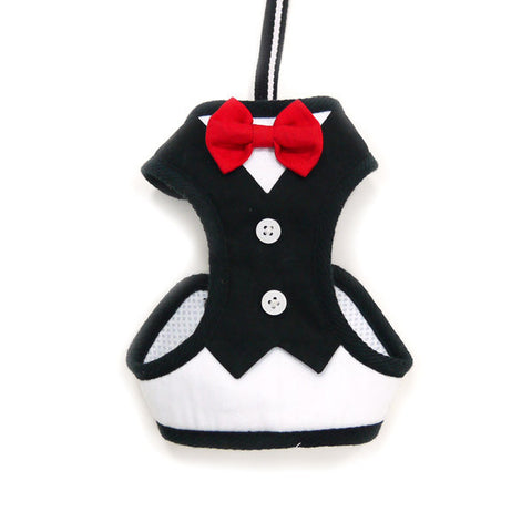 EasyGo Red Bow Tie Harness