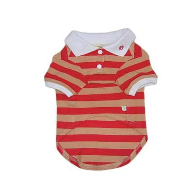PP Stripe Red Polo