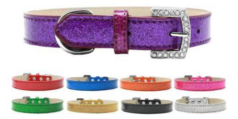 "10mm Plain Ice Cream 3/8"" Dog Collar"
