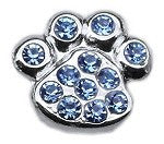Bling Paw Sliding Charms