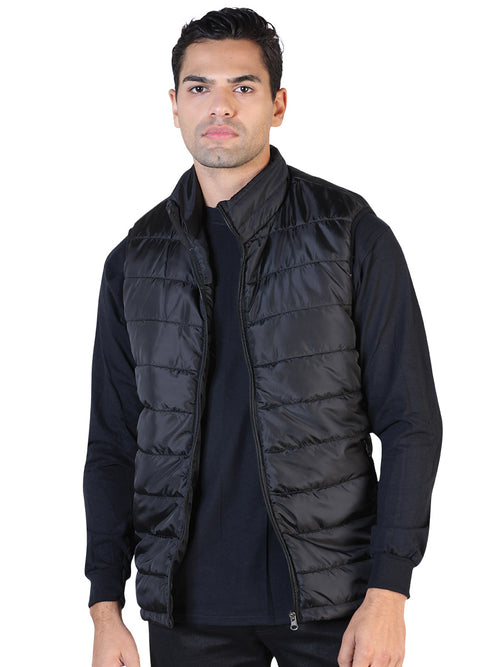 Casual Vest for Men, 100% Polyester 'The Lord of the Skies' * - ID: 42554 BLACK