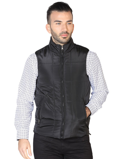Casual Vest for Men, 100% Polyester 'The Lord of the Skies' * - ID: 42612 BLACK