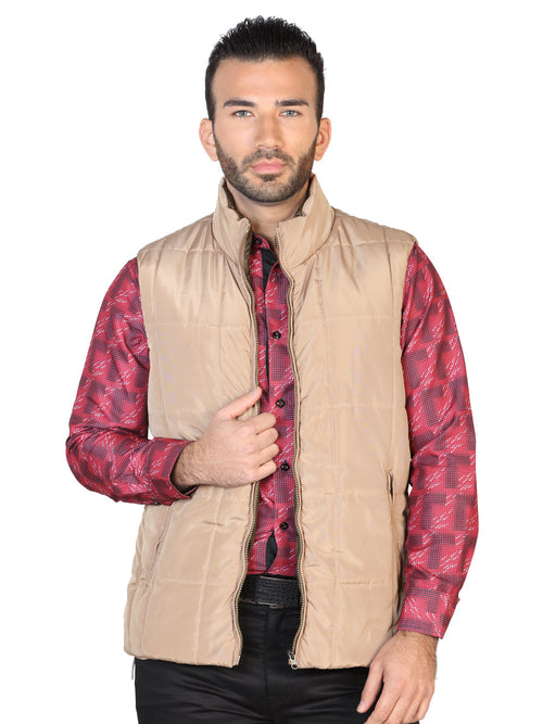 Casual Vest for Men, 100% Polyester 'The Lord of the Skies' * - ID: 42613 KHAKI