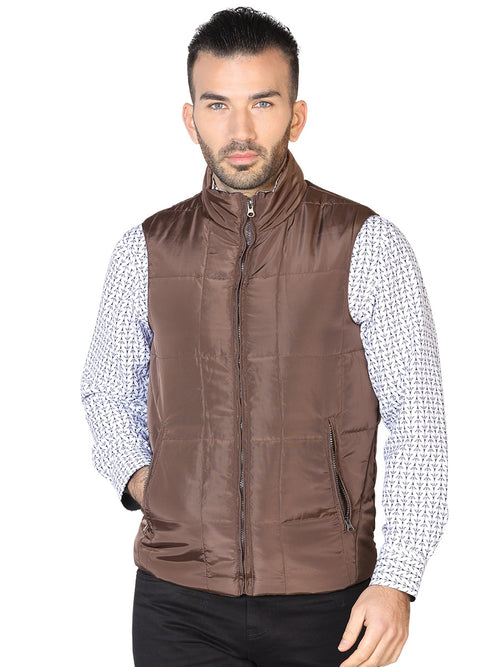 Casual Vest for Men, 100% Polyester 'The Lord of the Skies' * - ID: 42614 CAFE