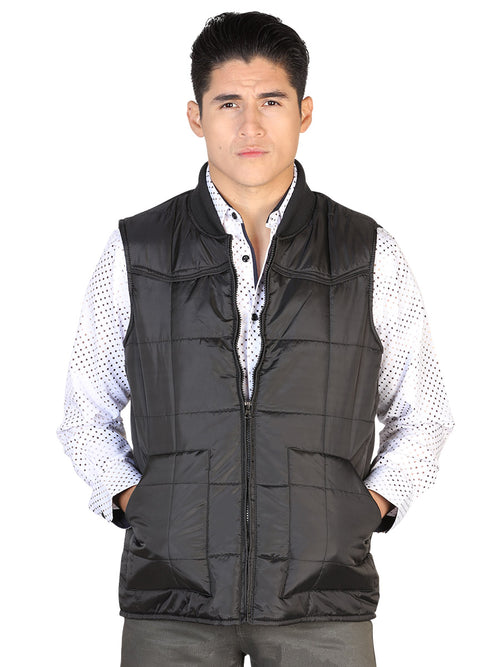 Casual Vest for Men, 100% Polyester 'The Lord of the Skies' * - ID: 43158 BLACK