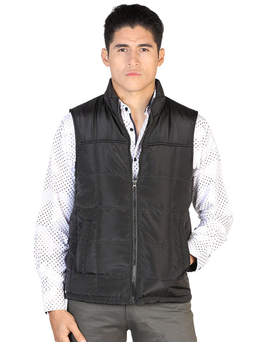 Casual Vest for Men, 100% Polyester 'The Lord of the Skies' * - ID: 43161 BLACK
