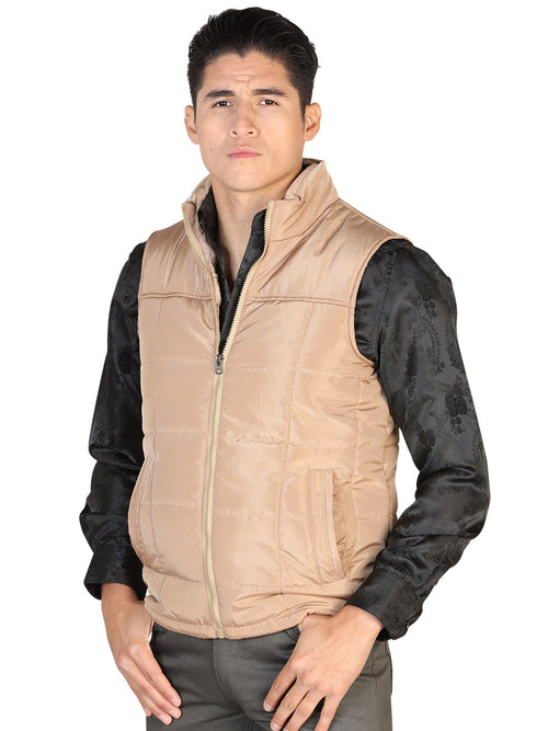 Casual Vest for Men, 100% Polyester 'The Lord of the Skies' * - ID: 43162 KHAKI