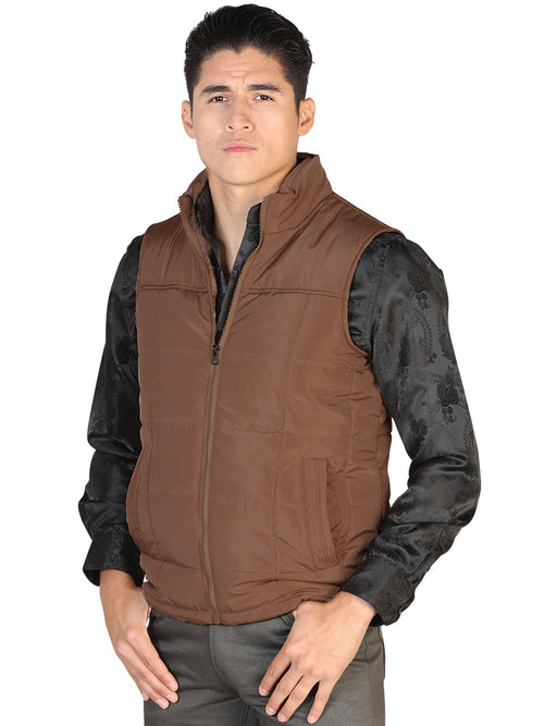 Casual Vest for Men, 100% Polyester 'The Lord of the Skies' * - ID: 43163 CAFE
