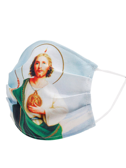 St. Jude Face Mask - Printed Saint Jude Face Mask - ID: 125609 SAINT JUDE