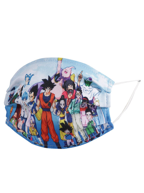 Printed Kids Face Mask - Cubrebocas Kids Impreso Dragon Ball Z - ID: 125669 DRAGON BALL Z